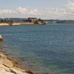 Coruña, Vista panorámica del Castillo de San Antón