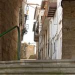 Betanzos, puerta y calle del cristo