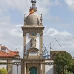 Ferrol, Detalle central de la Puerta del Arsenal.