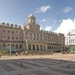 Ferrol, Plaza de Armas con el Palacio Consistorial