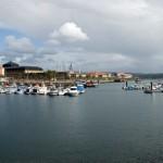 Ferrol, Vista general del muelle de Curuxeiras