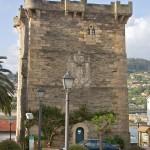 Pontedeume, Torre del Homenaje del castillo de los Andrade.
