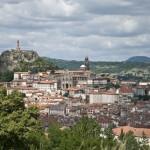 Vue panoramique du Puy-en-Velay